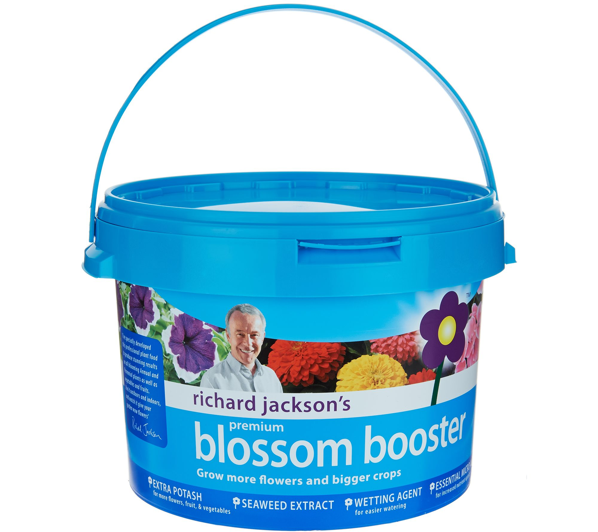 Richard Jacksons Blossom Booster plant food the secret of